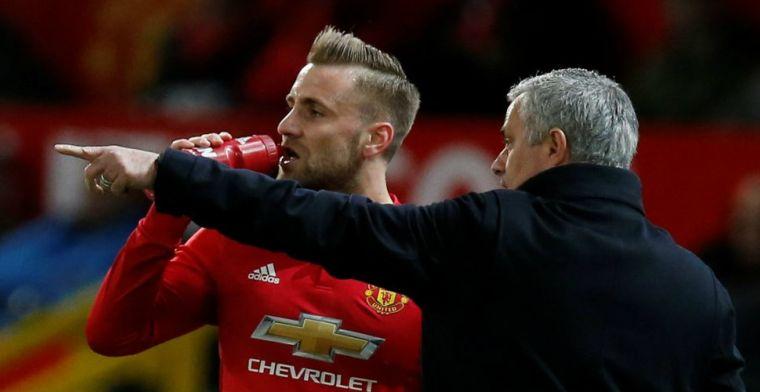 'Mourinho maakt zich niet populair: spelers boos over wissel Shaw'