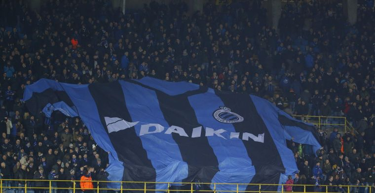 Club Brugge-supporter laat zijn ongenoegen blijken: Is dat zoveel gevraagd?