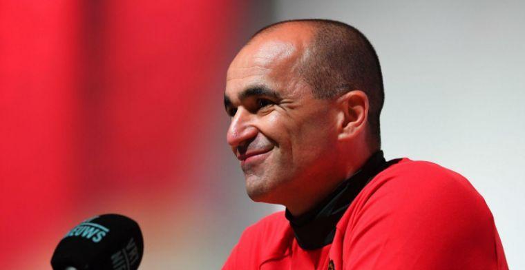 Martinez volgt collega-trainer niet: Bij ons speelt hij niet op die positie