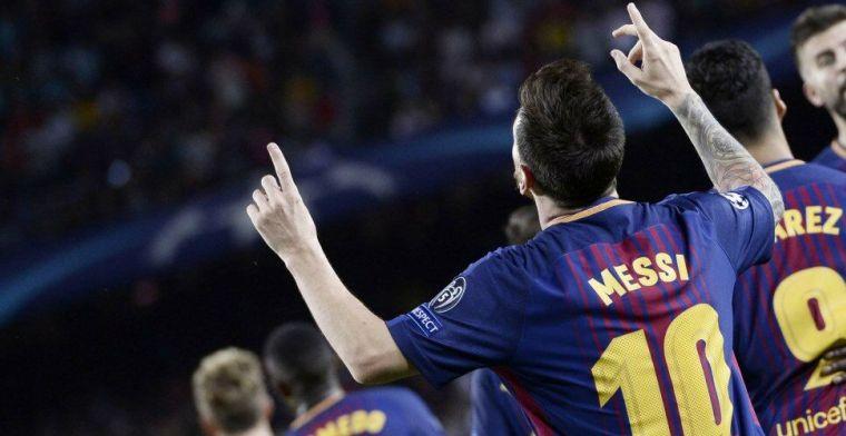 Messi over ongezond eetpatroon: 'Ik was 22 en wist nergens wat vanaf'