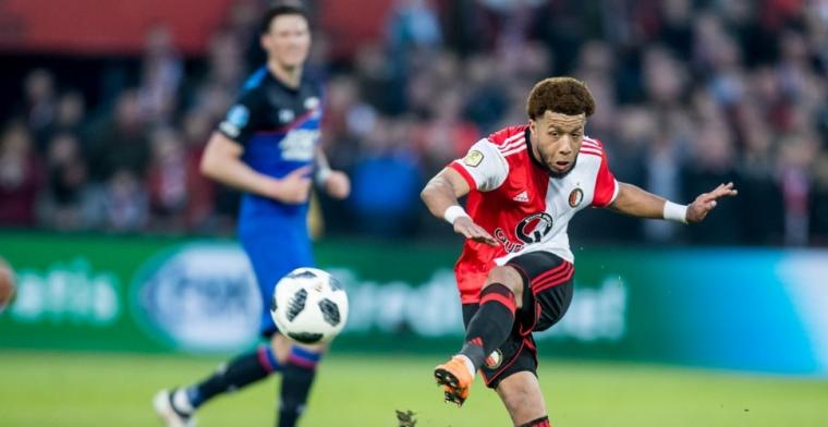 'Ben niet bezig met vertrek bij Feyenoord. Ik richt me op Oranje'