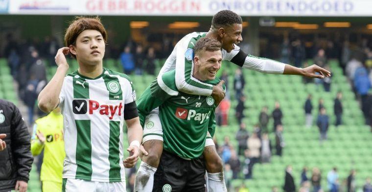 Contractnieuws bij FC Groningen: Van Nieff en Larsen weg, jongeling mag blijven