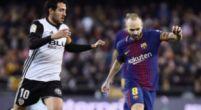 Imagen: Dani Parejo se deshace en elogios hacia la figura de Andrés Iniesta