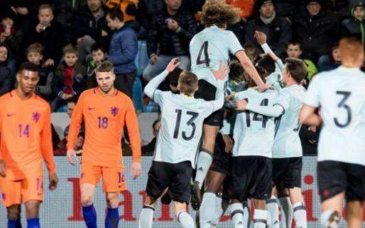 """Afbeelding: Anderlecht-huurling geniet na ruime zege tegen Oranje: """"Dubbel zo leuk"""""""