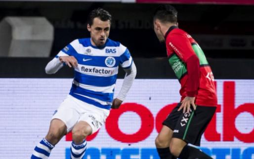 NEC verspeelt weer dure punten en biedt Jong Ajax grote mogelijkheid