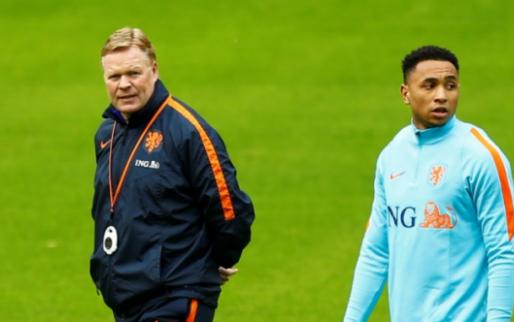 Eerste Oranje-opstelling Koeman officieel: tóch Dost tegen Engeland