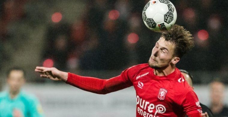 FC Twente licht optie in contract met Ter Avest niet en gaat gesprekken aan