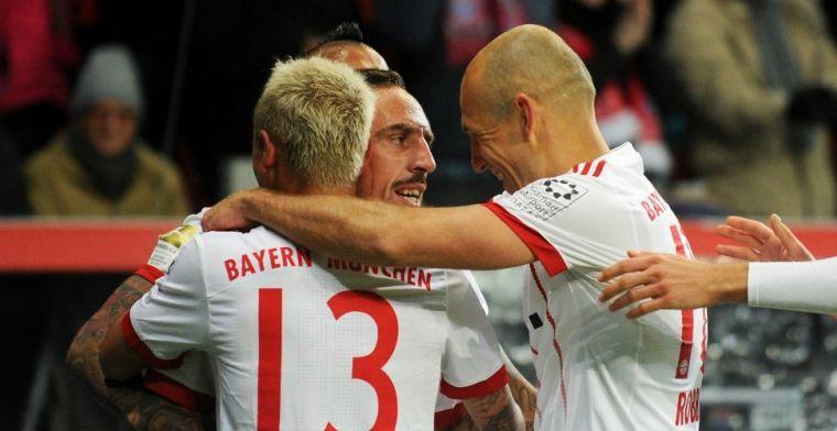 Bayern-voorzitter komt met nieuws tijdens kampioensfeest: Robben kan verlengen