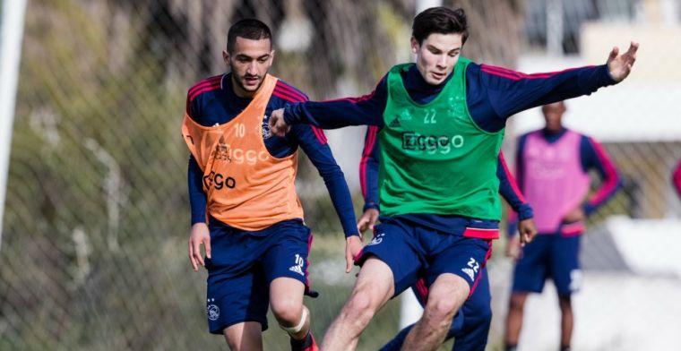 Scorende Ajax-debutant had 'beetje last van zenuwen': Gewoon fantastisch