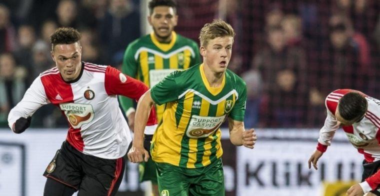 Feyenoord bindt 'krachtige, snelle vleugelspeler' (18): Heel erg dankbaar