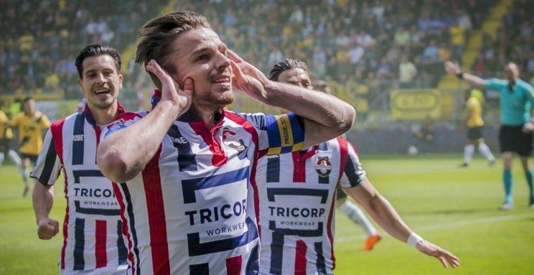 Brabantse burenruzie prooi voor Willem II: Rienstra matchwinner met twee goals