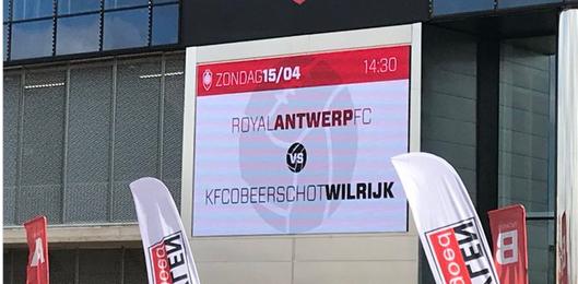 Antwerp deelt al kleine steek uit voor de derby: 'Het is tegen Wilrijk'