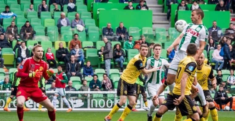 FC Groningen slaat toe in cruciaal treffen en speelt zich nagenoeg veilig