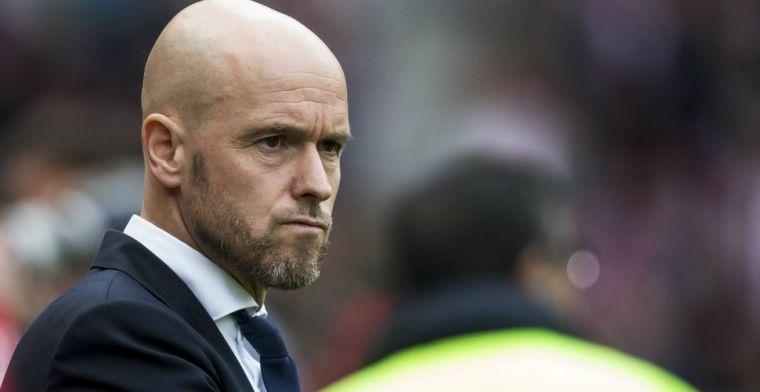 Ten Hag pleit voor verandering bij Ajax: Daar moeten we mee aan de slag