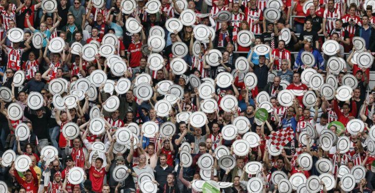 Draaiboek huldiging bekend: Eindhoven eert PSV-spelers maandag 19.00 uur