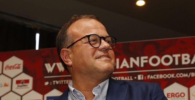Verhaeghe controleert alles en iedereen in het Belgisch voetbal