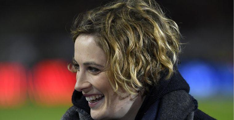 Kijkers lachen met Imke Courtois, maar Play Sports heeft antwoord klaar