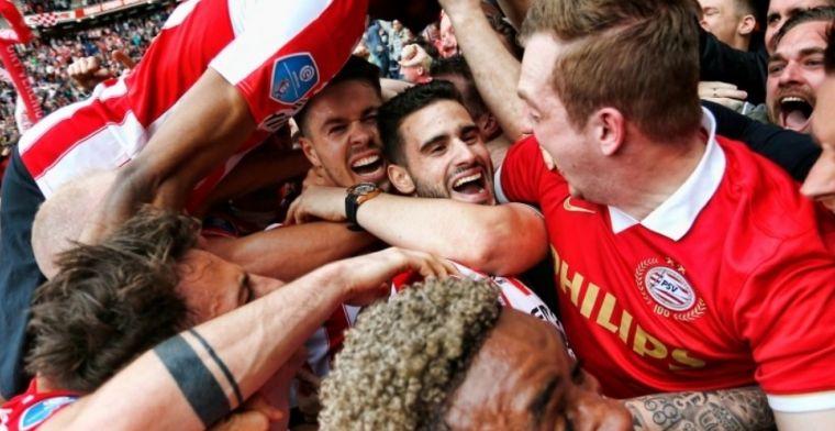 PSV bezorgt negental van Ajax complete afgang en pakt titel nummer 24