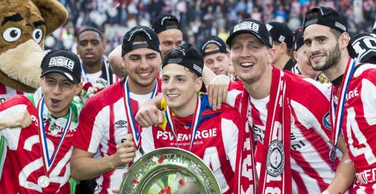 'Kassa voor PSV: kampioen enkele stappen verwijderd van 8 miljoen euro'