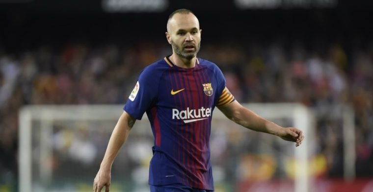 'Barça en Iniesta uit elkaar: middenvelder tekent voor drie jaar bij nieuwe club'