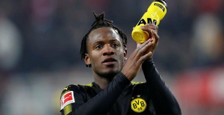Dortmund bevestigt slechte nieuws: ''Batshuayi voor de rest van het seizoen out''