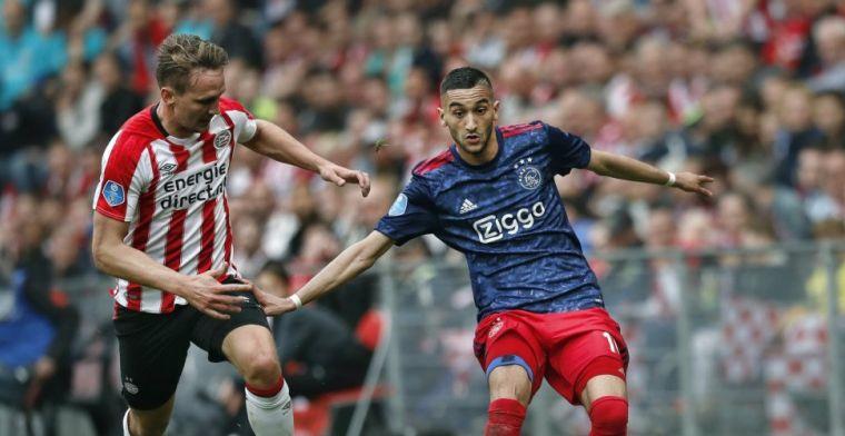 'Schandalige actie Ajax-fans: Ziyech kreeg zwiep bij verlaten spelersbus'