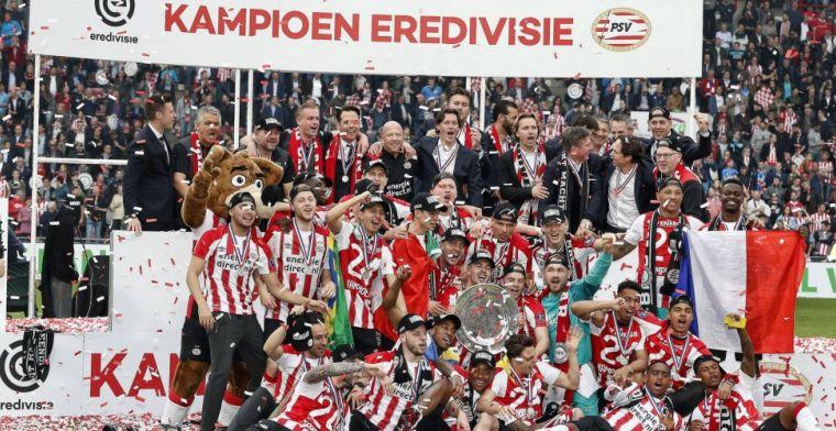 Kampioen PSV op rapport: topseizoen Zoet en Lozano, slechts één onvoldoende