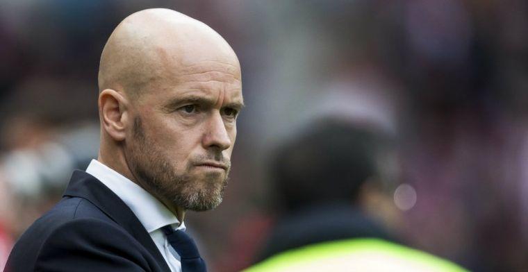 'Het was een treurige poging van Ajax-fans om de wedstrijd gestaakt te krijgen'