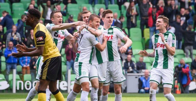 FC Groningen duwt bankzitter richting exit: 'Of ik terug wil? Ik wil spelen'