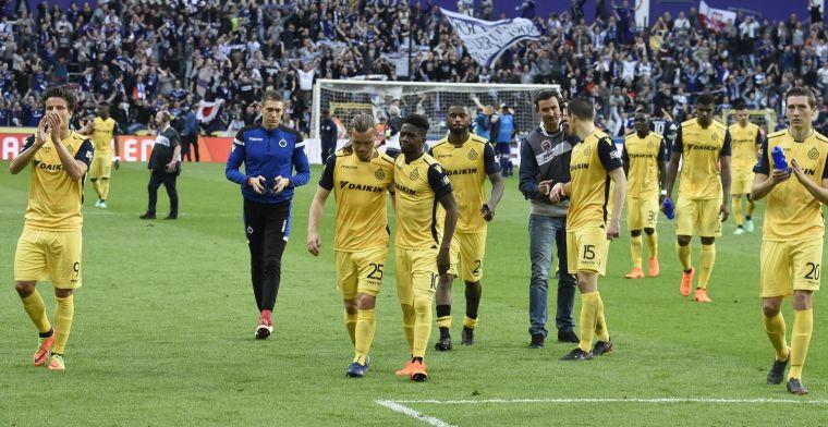 Gabulov uitblinker bij Club Brugge, één speler krijgt onvoldoende