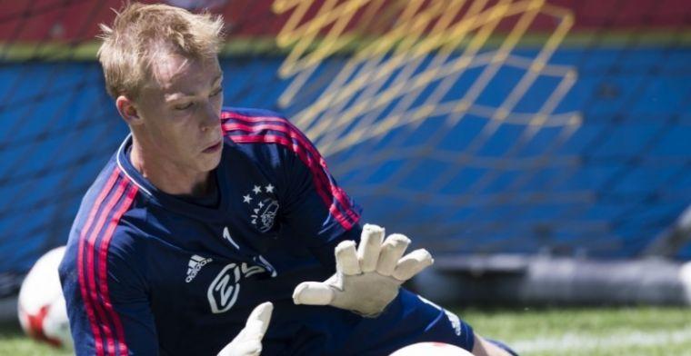 Ajax gaat door met twintigjarige goalie: nieuw contract tot medio 2020
