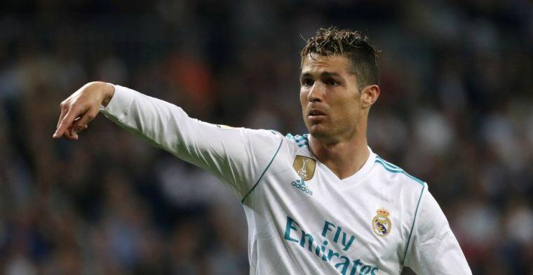 Ronaldo hakt Real Madrid naar laat gelijkspel: landstitel definitief onhaalbaar