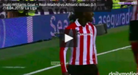 Imagen: VÍDEO | Iñaki Williams adelanta al Athletic con una preciosa 'picadita'