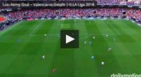 Imagen: VÍDEO | Loïc Remy adelanta al Getafe en Mestalla con una ejecución perfecta