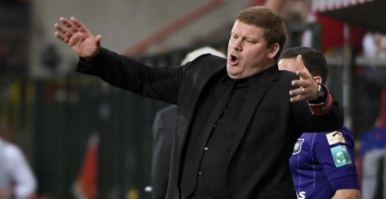 Vanhaezebrouck bracht eigen speler in problemen: 'Hij kreunde en zuchtte'