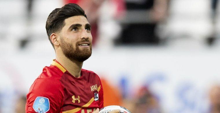'Een ongelooflijke dag, ik heb de bal laten signeren door mijn teamgenoten'