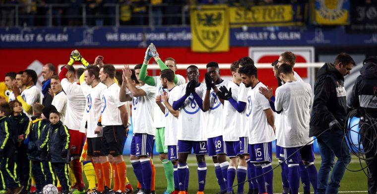 'Publiekslieveling van Anderlecht slaat nog één speeldag over'