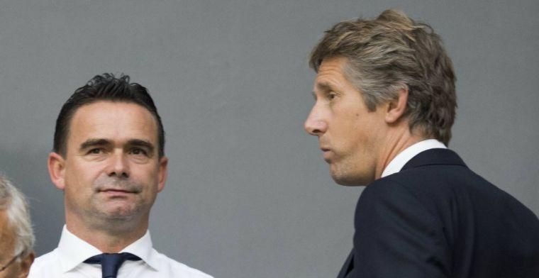 Van der Sar geeft Kluivert-signaal af: Duidelijk dat hij veel potentie heeft