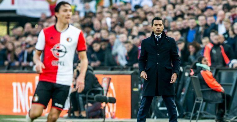 Van Bronckhorst overweegt 'Wenger-achtige' rol: 'Als het goed is, is het goed'