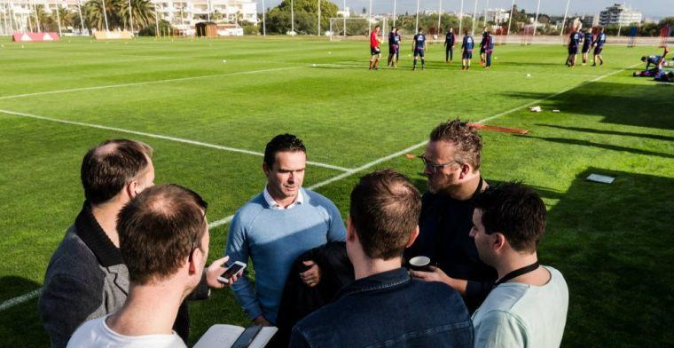 Overmars: 'Selectie Ajax komend seizoen zeker op tijd rond, absoluut'