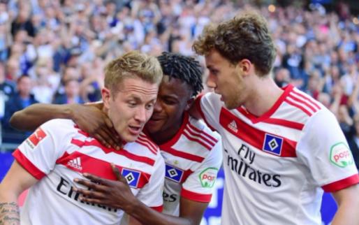 Afbeelding: HSV wint belangrijke degradatiekraker en mag hopen, B-ploeg Bayern wint opnieuw