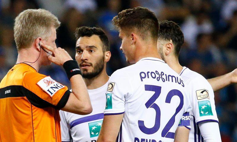 Afbeelding: VAR opnieuw onder vuur: 'Dit kan ook alleen maar tegen Anderlecht'