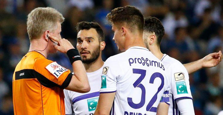 VAR opnieuw onder vuur: 'Dit kan ook alleen maar tegen Anderlecht'