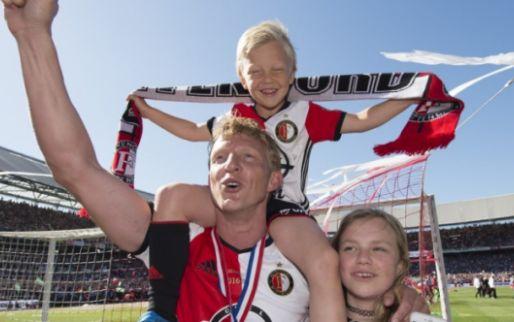 Aangeslagen Kuyt zorgt via Twitter voor opluchting bij Feyenoord-fans