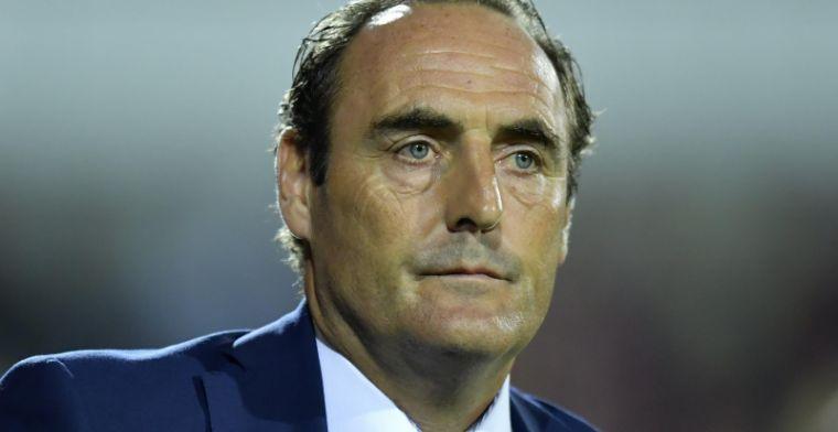 Vanderhaeghe sneert naar Charleroi: 'Geen sprake van voetbal in tweede helft'