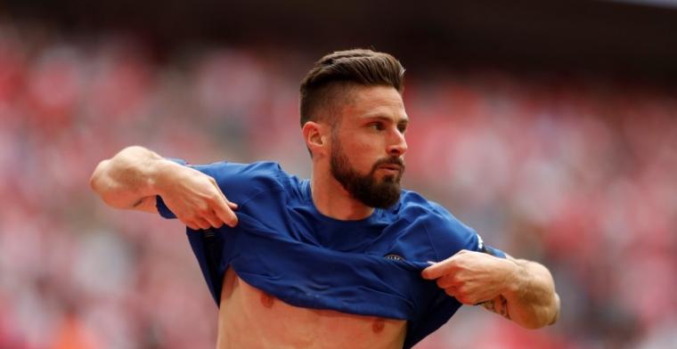 Chelsea plaatst zich voor FA Cup-finale mede door prachtige goal Giroud