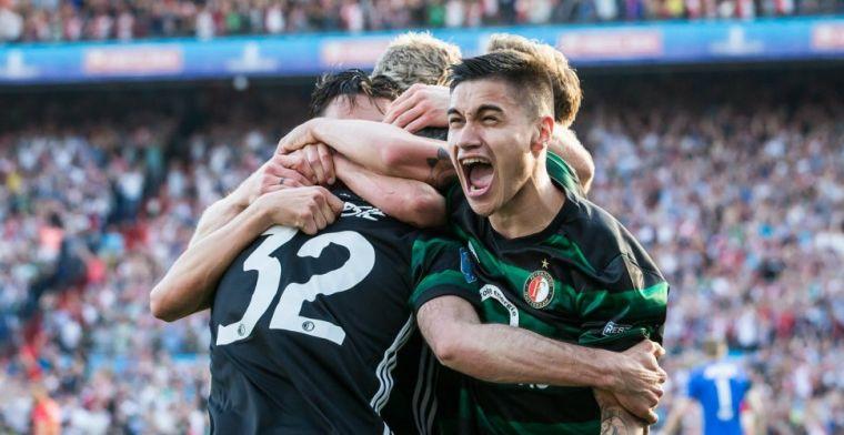 'Voor mij zou het heel mooi zijn als ik me verder kan ontwikkelen bij Feyenoord'