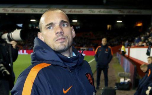 Afbeelding: KNVB eert recordinternational Sneijder met afscheidsduel: