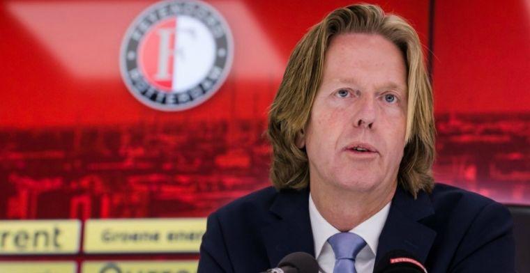 'We hebben 250.000 euro gekregen. Nou, dat is voor Feyenoord gewoon veel geld'
