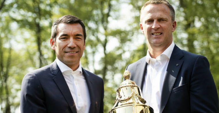 Van Bronckhorst nog niet klaar: Voel me gewaardeerd bij Feyenoord